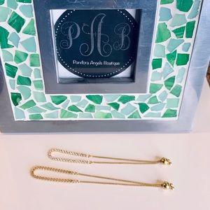 1 Pandora Shine Sparkling Strand Bracelet Left!!